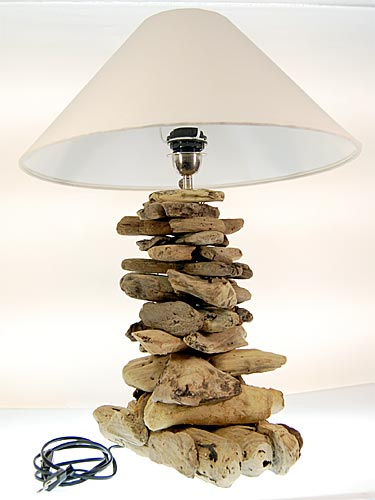 seestern treibholz beistell lampe tischlampe driftwood holzdeko 65 cm hoch ebay. Black Bedroom Furniture Sets. Home Design Ideas