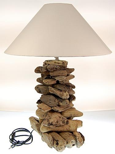 seestern treibholz beistell lampe tischlampe driftwood holzdeko 65 cm hoch. Black Bedroom Furniture Sets. Home Design Ideas