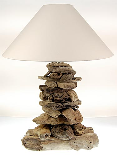 seestern treibholz beistell lampe tischlampe driftwood holzdeko 65 cm. Black Bedroom Furniture Sets. Home Design Ideas