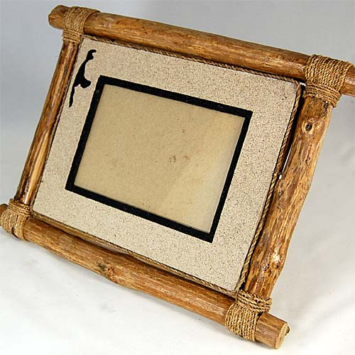 seestern deko bilderrahmen foto rahmen v bali aus bambus material 10. Black Bedroom Furniture Sets. Home Design Ideas
