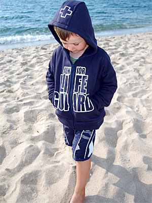 dad66d18d8 Kleidung & Accessoires SEESTERN Kinder Kapuzen Sweat Jacke Junior Lifeguard  Hoody Sweater 92-152