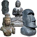 Stein Statuen
