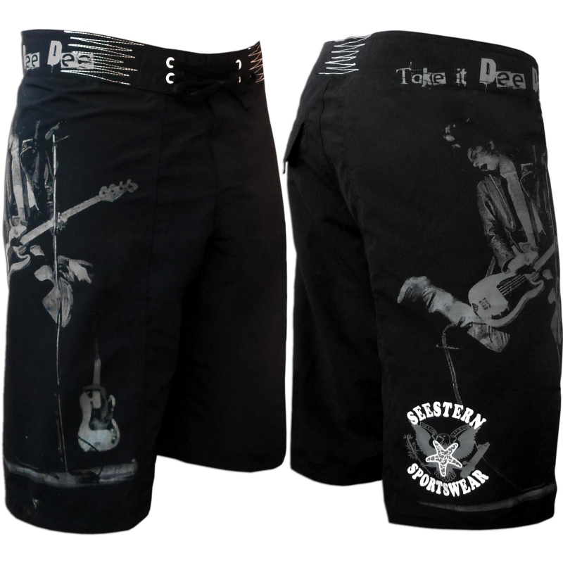 seestern herren boardshorts surfshort ramones print boardshort surf s. Black Bedroom Furniture Sets. Home Design Ideas