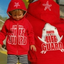 SEESTERN Kinder Kapuzen Sweat Jacke Junior Lifeguard...