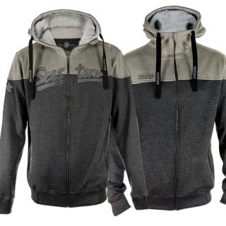 98c184206399d9 SEESTERN Herren Kapuzen Sweat Shirt Jacke Pullover Zip Hoody Sweater Gr.S- XXL ...