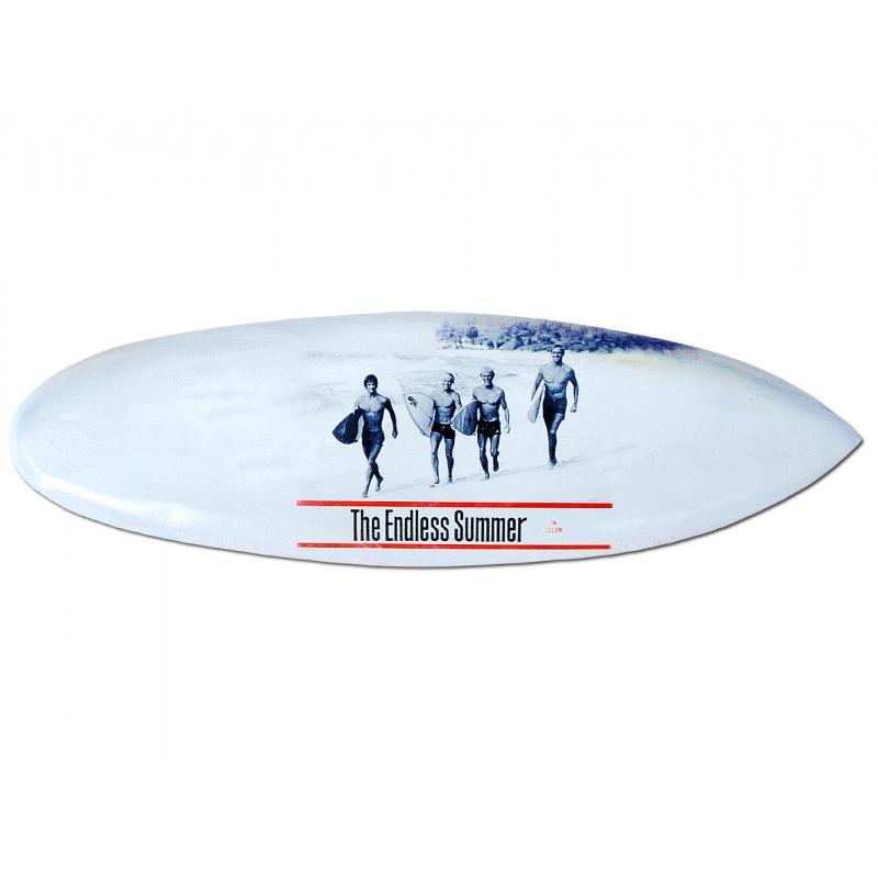 SU-100-Retro- he // Deko Surfboard 100 cm aus Holz Surfbrett Board surfen