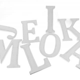 Dekoration Holz Wand Deko Buchstaben Namen ABC 20 cm hoch /1993, 2,90
