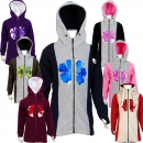 SEESTERN Kinder Kapuzen Fleecejacke Fleecemantel Fleece...