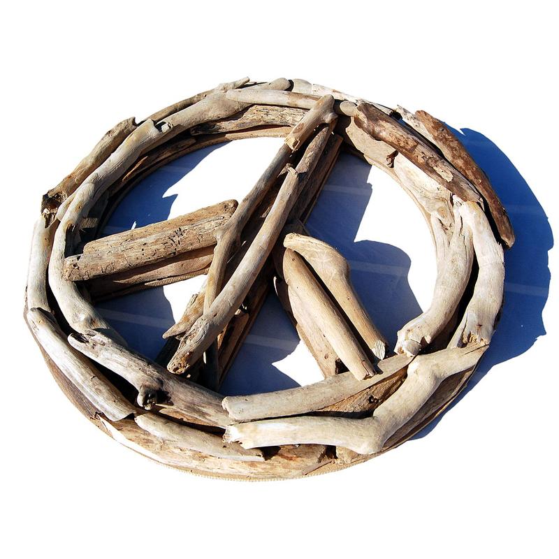 Seestern treibholz deko m peace 40 cm motiv wanddeko for Treibholz wanddeko